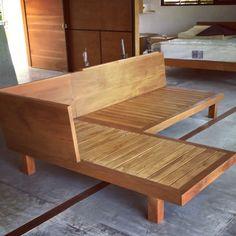 Simple Furniture, Diy Outdoor Furniture, Home Decor Furniture, Sofa Furniture, Pallet Furniture, Home Decor Bedroom, Furniture Projects, Furniture Design, Room Decor
