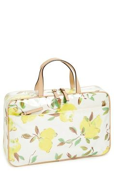 kate spade new york 'limoncello bouquet - manuela' cosmetics case available at #Nordstrom