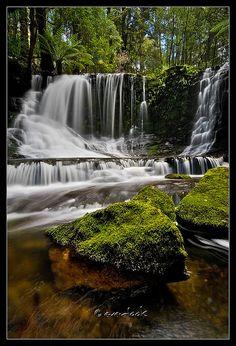 ✯ Horseshoe Falls, Mount Field National Park, Tasmania