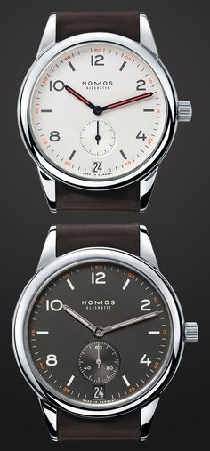 The #WatchSnob on the Nomos Club Datum http://www.askmen.com/style/watch_snob/nomos-club-datum.html