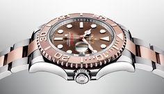 Descubra el nuevo Rolex Yacht-Master 40. Este emblemático reloj naútico, presentado en Baselworld 2016, está disponible en oro Everose con una esfera chocolate.