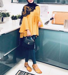 Hijab is not just about fashion, it reflects who you are, your identity 💕💕. by Hijab Ecer dan Grosir Modern Hijab Fashion, Street Hijab Fashion, Islamic Fashion, Abaya Fashion, Muslim Fashion, Fashion Outfits, Fashion Muslimah, Modern Abaya, Hijab Casual