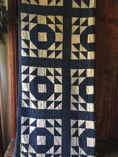 Early Antique Quilt Calico Fabric RARE Blue & White Star Textile AAFA CUTTER | Antiques, Primitives | eBay!