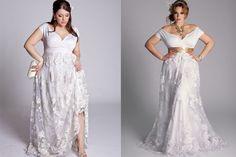 Plus Size Vintage Wedding Dresses, Over Size Romance
