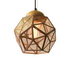 Honey Hive Pendant Light