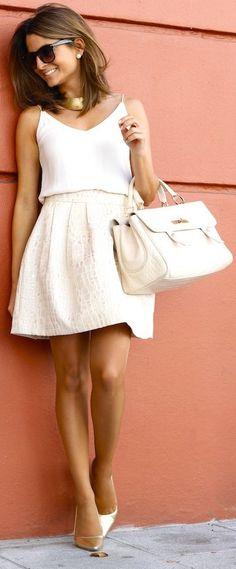 All white #trendygirl