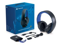 PlayStation gold wireless stereo headset gifts for teenage boys