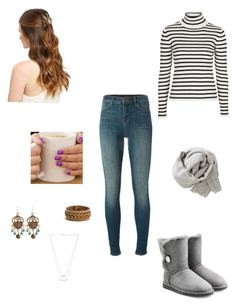 """""""Say you'll remember me..."""" by spontaneous47 ❤ liked on Polyvore featuring UGG Australia, J Brand, Brunello Cucinelli, Topshop, Frye and Jennifer Zeuner"""