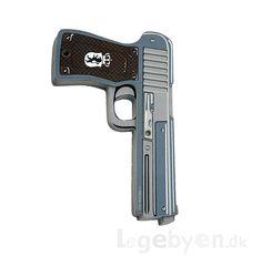 Køb Politi Pistol online - Udklædning og Rolleleg