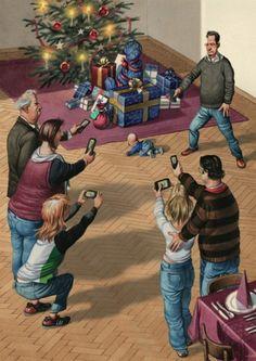 Mobile Weihnachten