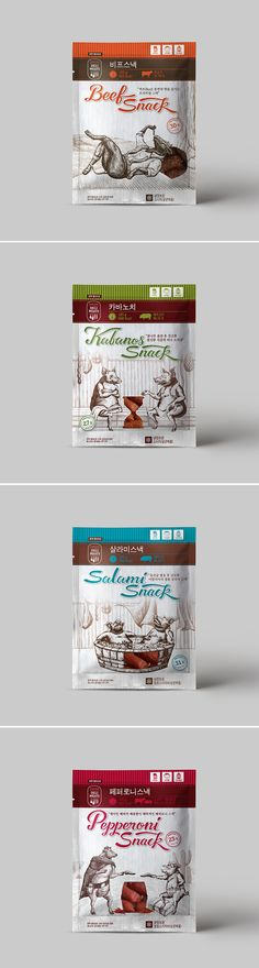 opakowania Deli Fleischverpackungsdesign Getting Kids To Brush Up On Proper Oral Hygiene Though pare Packaging Snack, Food Packaging Design, Coffee Packaging, Brand Packaging, Branding Design, Charcuterie, Meat Packing, Dog Snacks, Food Design
