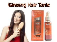 FAST HAIR GROWTH Ginseng  Tonic Stop Natural Regrowth Hair Loss Promote Serum #GINSENGHairTonic