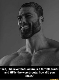 """""""Yes, I believe that Sakura is a terrible waifu and HF is the worst route, how did you know?"""" - """"Yes, I believe that Sakura is a terrible waifu and HF is the worst route, how did you know? Funny Naruto Memes, Funny Car Memes, Funny Games, Hello Yes, Splatoon Memes, First Plane, League Of Legends Memes, Dark Souls, Popular Memes"""