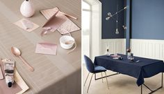 Make your home ready for spring with stribes from Georg Jensen Damask.