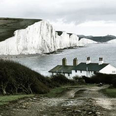 Seven Sisters Cliffs, Sussex.