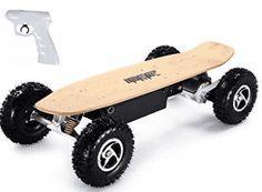 MotoTec MT-SKT-1600 1600w Dirt Electric Skateboard - Off Road Skateboards Bugatti, Maserati, Ferrari, Lamborghini Aventador, Electric Power, Electric Cars, Rolls Royce, Adrenaline Sports, Electric Skateboard