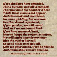 Midnight Garden A Midsummer Nights Dream William Shakespeare