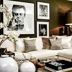 There are many elegant living room ideas that you might decide to get applied in your living room design. Because you have landed here then most probably you want Elegant living room answer. Glam Living Room, Elegant Living Room, Living Room Interior, Home Interior Design, Living Spaces, Living Room Artwork, Small Living, Sofa Living, Glam Room