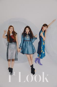 (G)I-DLE Minnie, Yuqi & Miyeon - 1st Look Magazine
