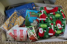 The 14 Cutest Christmas Eve Box Ideas #ChristmasEve #ChristmasEveBox
