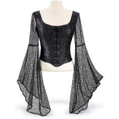 Nightingale Top - Women's Clothing & Symbolic Jewelry – Sexy, Fantasy, Romantic Fashions