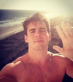 """""""Hi from my hotel balcony """"-Johnny Deluca love him Love him #johnnydeluca's1fan @elegantbella"""