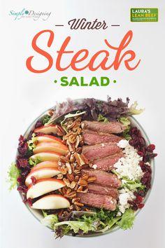 Winter Steak Salad