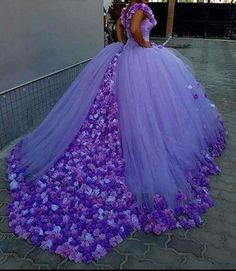 Lavender Ball Gown Quinceanera Dress V Neck Flowers Gorgeous Custom Girls Sweet 16 Dresses 15 Years Birthday Party Gowns · Lalamiya · Online Store Powered by Storenvy Ball Gowns Evening, Ball Gowns Prom, Party Gowns, Ball Dresses, Wedding Gowns, Evening Dresses, Prom Party, Lavender Quinceanera Dresses, Quince Dresses