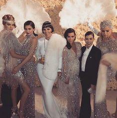 Kendall x Kylie x Kris x Kim x Kourtney x Khloe - Kris Jenner's 1920's Great Gatsby theme birthday party