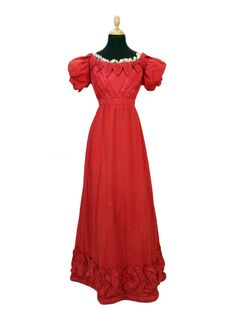 Evening dress, 1820′sFrom Bonham's