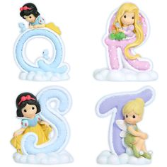 Precious Moments Disney Alphabet Q-T