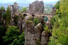 Bastei - Lohmen - Germany #travel #backpacking #trails