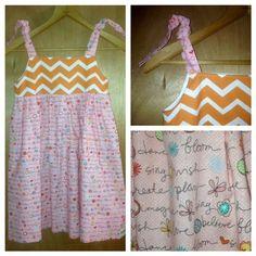 Sundress/Halter Dress girls size 5 by SewMeems on Etsy