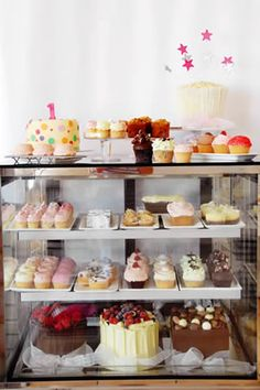 Cake cabinet from Judy C... Inspiration for any event, yum :)