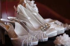 Carina and Cecile style Wedding High Heels, Wedding Shoes, Collection, Style, Fashion, Swag, Moda, Fashion Styles, Wedding Slippers