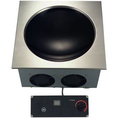 """Ready to meet a variety of cooking needs, an induction cooker is a great piece of equipment to have on hand in your kitchen. Whether cooking sauces, soup, pastas or with a wok, this 15 1/5"""" Drop-In Induction Wok Range (DW30-1) can handle it. This compact model is designed with close coil technology to deliver faster heat-up times and ultimately higher cooking efficiency. A wok pan is included with this range, ensuring that you have all you need to get cooking!"""
