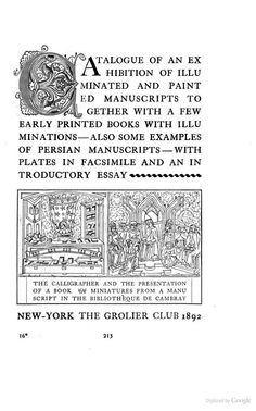 Title-pages as Seen by a Printer: With Numerous Illustrations in Facsimile ... - Theodore Low De Vinne - Google Books - Initial C