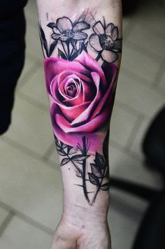 Rose #valentine #flower #tattoo