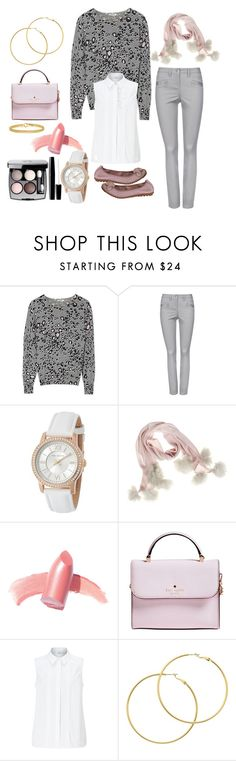 """""""Musk Wild Cat"""" by barbara-ward-1 on Polyvore featuring Ted Baker, Samantha Holmes, Elizabeth Arden, Kate Spade, John Lewis, Melissa Odabash and Chanel"""