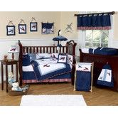 Found it at Wayfair - Vintage Aviator Crib Bedding Collection