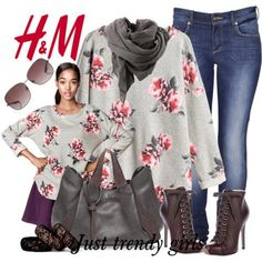 H&M casual clothing for winter   Just Trendy Girls