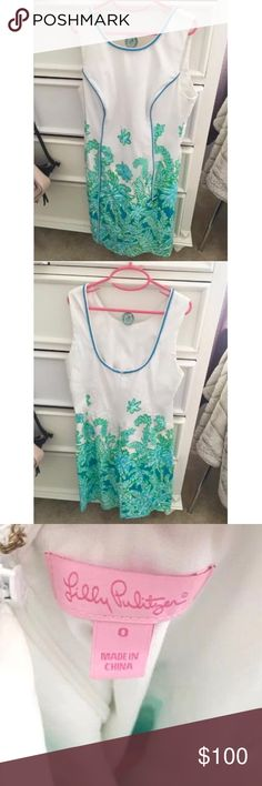 NEW LISTING 🌸 Lilly Pulitzer Carlow Shift Dress Adorable Carlow Shift Dress from Lilly Pulitzer! 💜 Only worn once - like new condition. 🌸 Great dress for any occasion. Looks great dressed up or dressed down. Hits about mid thigh. Lilly Pulitzer Dresses Midi