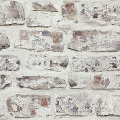 Whitewashed Wall by Arthouse - White - Wallpaper : Wallpaper Direct Brick Wallpaper Bedroom, Wood Plank Wallpaper, Linen Wallpaper, Waves Wallpaper, Brick Wallpaper Roll, Embossed Wallpaper, Wallpaper Panels, White Wallpaper, Geometric Wallpaper