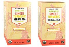 Trader Joes Organic Ginger Turmeric Herbal Tea 20 envelopes * You can find more details by visiting the image link. Note: It's an affiliate link to Amazon.