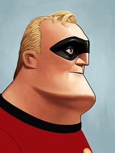 Mr. Incredible by Mike Mitchell