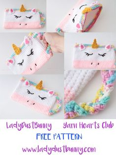 FREE Unicorn Pencil Case Pattern - LadyDustBunny