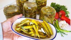 Bu Kadar Kolay Yağlı Biber Turşusu Tarifi Başka Yerde Yok Pickles, Tiramisu, Cucumber, Pudding, Cooking, Ethnic Recipes, Cement, Food, Bulgur