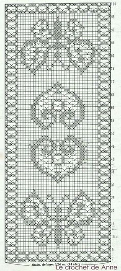 Crochet with butterfly