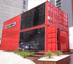 Containers shops - Lojas Containers: veja uma série de modelos criativos - Instituto Ecoação