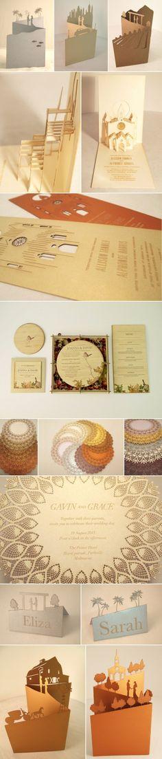 Keepsake Wedding Invitations: Landscapes, Pop-up, Laser-Cut, Interactive & More.